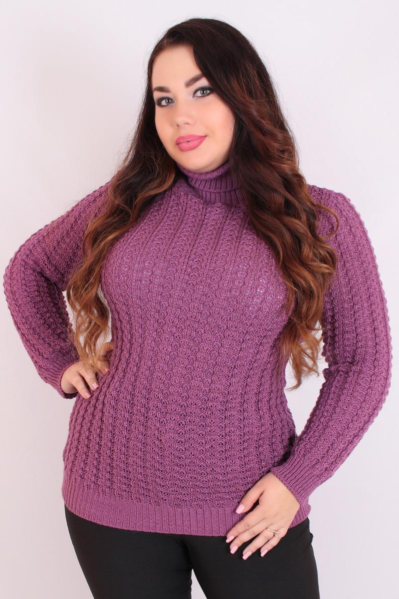 ea6d28e8c990 Свитер большого размера Алла (10 цв), свитер женский для полных, легкий  женский