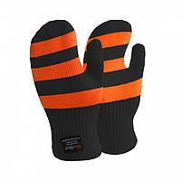 Водонепроницаемые детские варежки Dexshell Children mittens, оранжевые DG536