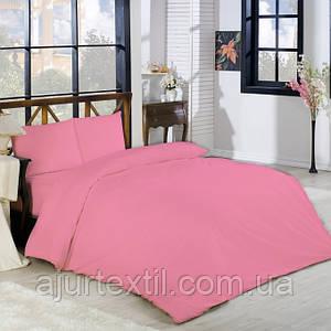 Постельный комплект Ранфорс Турция розовый