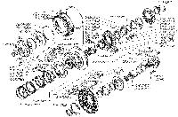 Барабан фрикциона 7548-1709184 погрузчик МоАЗ-40484, МоАЗ-750511