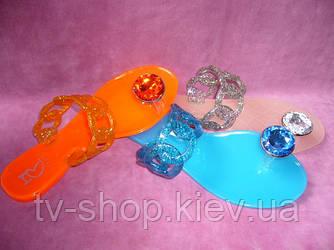 Шлепки силиконовые (3 цвета)