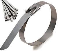 Кабельная стяжка металлическая 4,5х200 (100 шт./уп.)