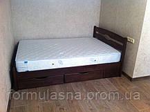 Кровать деревянная Лика Люкс с ящиками Олимп, фото 2