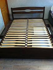 Кровать деревянная Лика Люкс с ящиками Олимп, фото 3