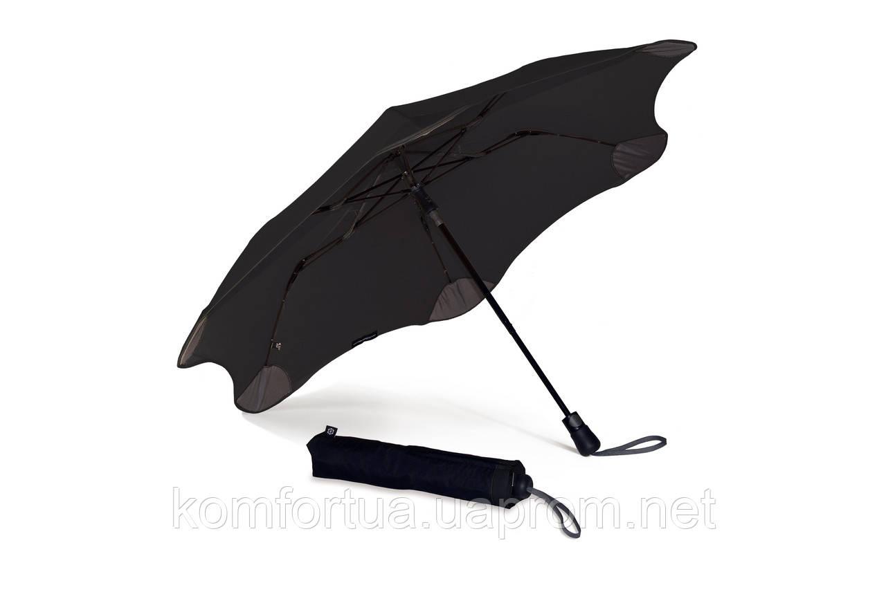Зонт складной Blunt XS Metro Black полуавтомат