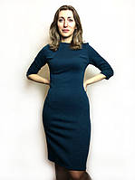 Платье футляр из жаккардового трикотажа П107, фото 1