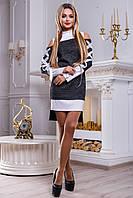 Интересное молодежное платье