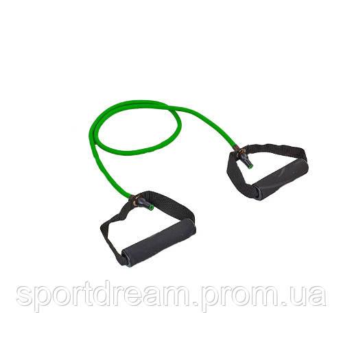 Эспандер трубчатый с ручками 5LB зеленый FI-2080-G