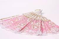 Веер для невесты (розовый)