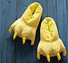 Тапочки теплые для кигуруми  желтые, фото 2