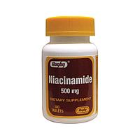 Rugby Niacinamide Ниацин, Никотинамид  ( витамин PP ,витамин B3) 500 мг 100 таб
