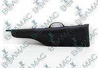 Чехол для ружья 90 см кожа-спилок черный