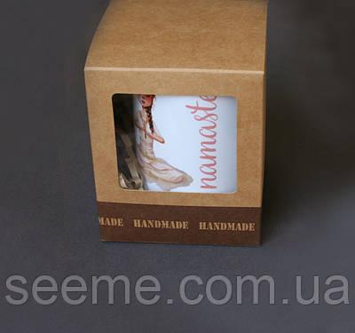 Коробка подарункова, 100х100х120 мм.
