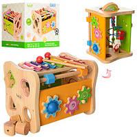 Деревянная игрушка Игра-логика MD 1062