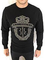 Кофта мужская Billionaire D2460 черная