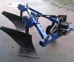 Плуг двухкорпусный усиленный ШИП 2-20 для мотоблока, мототрактора