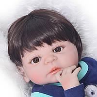 Полностью силиконовая кукла реборн девочка/ Reborn