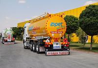 Сертифицированная топливная цистерна SINAN /RIGID FUEL TANKER WITH ADR