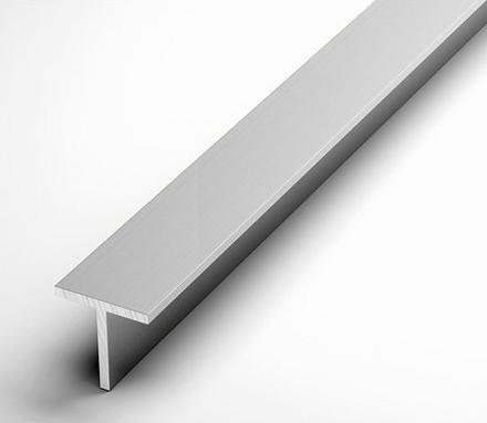 Тавр алюминиевый 40х40х3 / анодированный