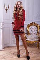 Трикотажное женское платье 2446 Seventeen 44-50 размеры