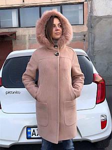 Пальто парка шерстяное