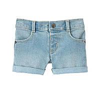 Джинсовые шорты с подворотами для девочки Crazy8