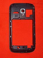 Корпус Samsung i8160 Galaxy Ace 2 (средняя часть) синий Original