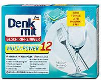 Таблетки для посудомойки Denkmit Geschirr-Reiniger Multi-Power
