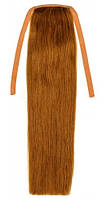 Накладной хвост из натуральных волос 40 см. Цвет #08 Русый, фото 1