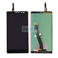 Дисплей + сенсор (модуль) Lenovo K910 Vibe Z черный оригинал (Китай)