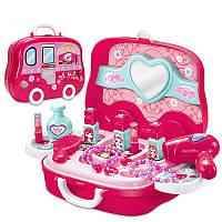 Детская игрушечная косметичка в чемодане 008-917A