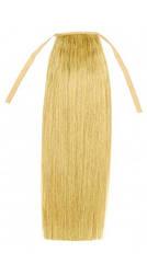 Натуральний накладної хвіст 40 див. Колір #60 Холодний блонд