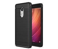 TPU чехол накладка для Xiaomi Redmi Note 4 / Note 4X (Snapdragon) (Черный), фото 1