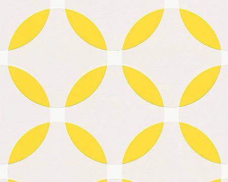 Обои виниловые с абстрактным рисунком - круги 957594.