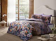 Семейное постельное белье  TAC Didgital Satin Reflection V01 lila