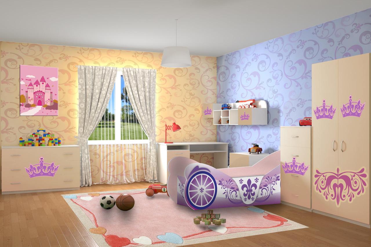 Детская комната Карета (серия Форсаж)