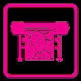 Широкоформатная печать (интерьерная печать)