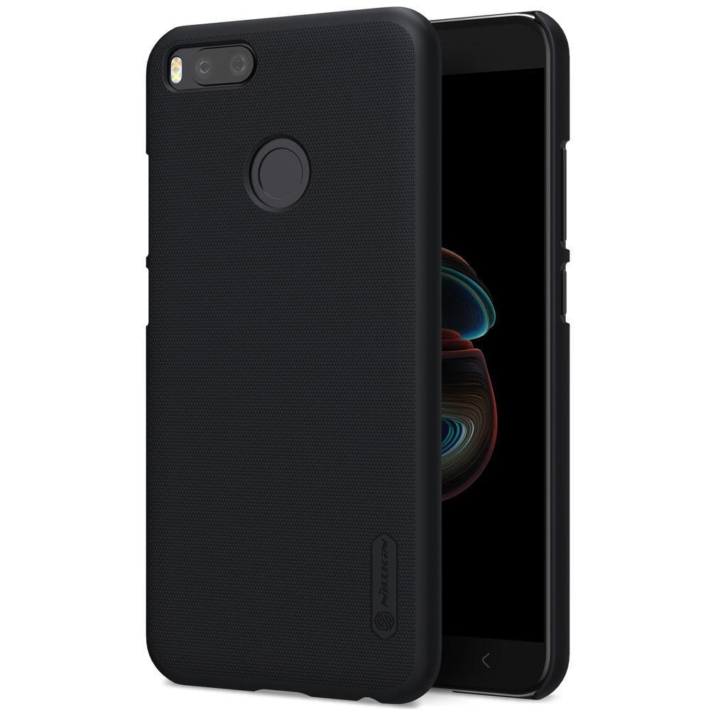 Nillkin Xiaomi Mi 5x/ Mi A1 Super Frosted Shield Black Чехол Накладка Бампер