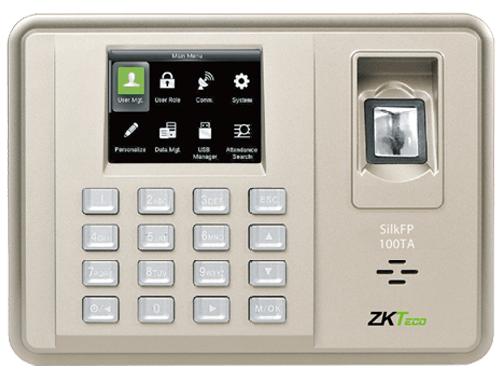 Биометрическая система учета рабочего времени ZKTeco Silk FP-100TA