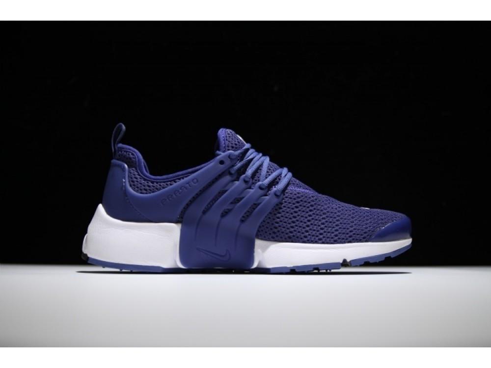 Мужские летние кроссовки NIKE Air PRESTO QS синие