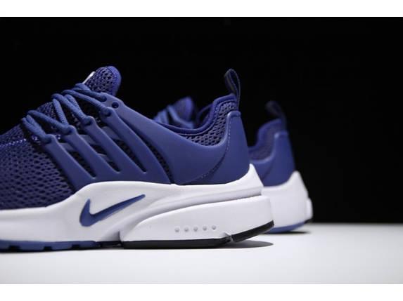 Мужские летние кроссовки NIKE Air PRESTO QS синие, фото 2