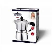 Гейзерна кавоварка Peterhof 12530-6 300 мл алюм
