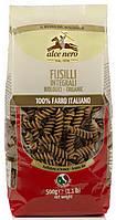 Органические макароны из муки грубого помола fusilli, (спельта), Alce Nero, 500 гр