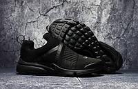 Беговые мужские кроссовки NIKE Air PRESTO EXTREME черные