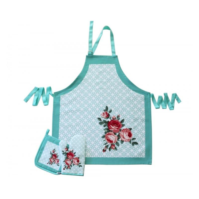 Набор для кухни Barine - Frame фартук + прихватка + рукавица