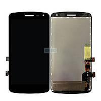 Дисплей + сенсор (модуль) LG X220 K5 Dual Sim черный оригинал (Китай)