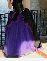 Фатиновая юбка с рюшами, фото 2