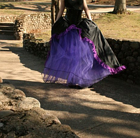 Фатиновая юбка с рюшами, фото 3