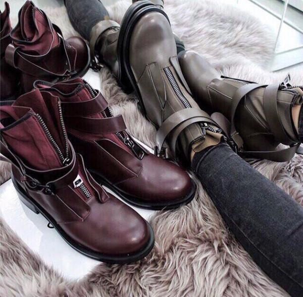 828f7bd5 Стильные женские зимние ботинки на низком ходу бежевые: продажа ...