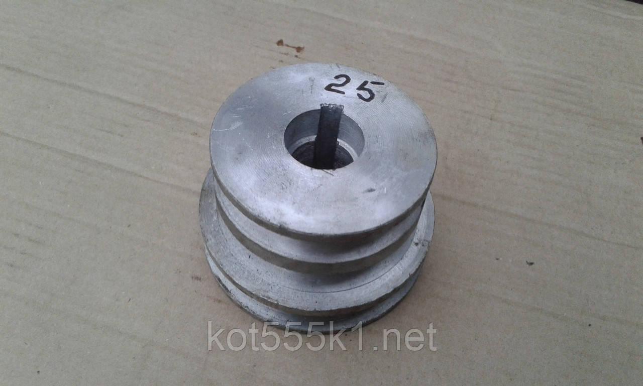 Шків мотоблок Нева Ø 25 мм